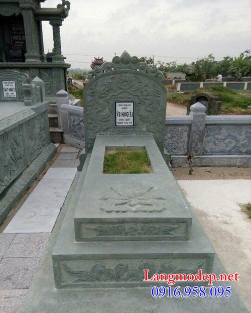 giá mộ đá xanh rêu